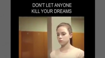 Don't Let any one to kill your dreams
