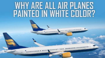Why Are Airplanes Usually White?