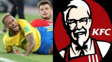 KFC Trolling Neymar like a Boss