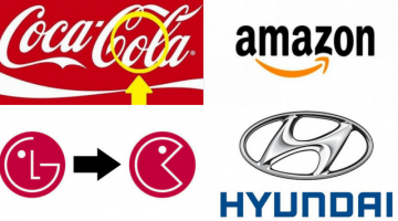 16 FAMOUS LOGOS WITH A HIDDEN MEANING!!