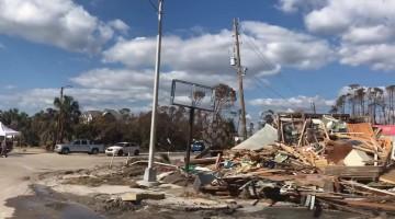 Drive through Mexico Beach shows post-hurricane destruction