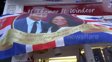 Windsor souvenir shop ignores Princess Eugenie in favour of Meghan and Harry