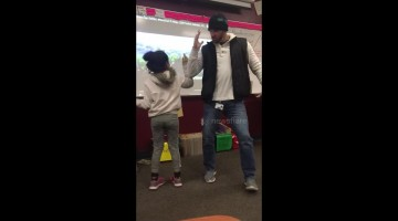 US teacher learns amazing secret handshakes for all his students