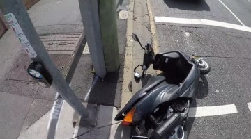 Road Rage Scooter Attack