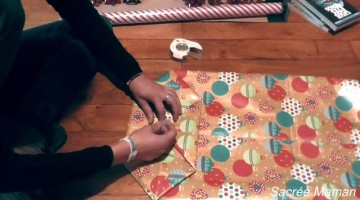 How To Gift Wrap  a Ball