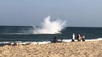 Emergency Landing in Ocean City