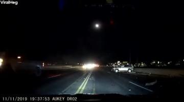 Multi-Car Collision on California Road