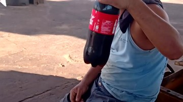 Soda Bottle Opening With a Bang