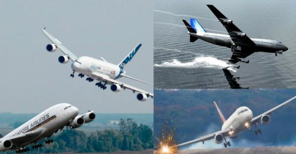 Dangerous Crosswind Landings During A Storm!!