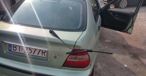 Car Wiper Is a Little Off the Mark