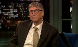 Bill Gates Does An Outrageous Video For A Good Cause.