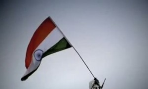 Amazing Video Of The Indian Armed Forces Singing Our National Anthem At 21,000 ft