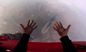 Two Adrenalin Junkies Find Their Way To The Top Of The World\'s Second Tallest Man Made Structure And The Result Is Epic