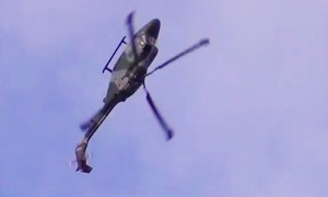Watch An Awesome Helicopter Pilot Own Inertia And Pull Off Some Unbelievable Moves!