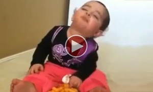 This Baby Is Hungry And Sleepy At The Same Time And It Is Hilariously Cute To Watch