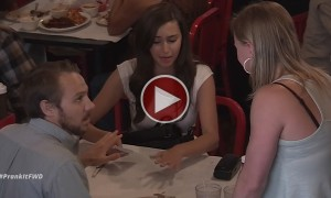 A Waitress Becomes The Victim Of The Most Amazing Prank Ever