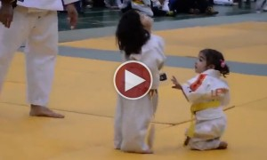 The Cutest Karate Fight You Will Ever See