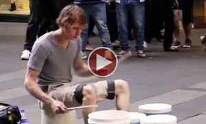 Watch An Insanely Talented Street Drummer Blow Your Mind