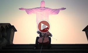 Watch This Awe-Inspiring Rendition Of 'How Great Art Thou' Performed At The Feet Of Christ The Redeemer