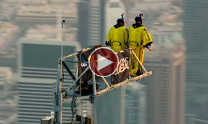 Watch This Epic Base Jump From The World's Tallest Building