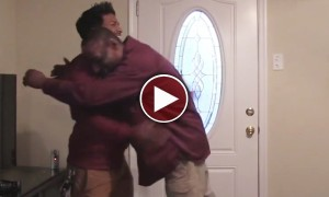 Watch A Homeless Man Get The Surprise Of A Lifetime