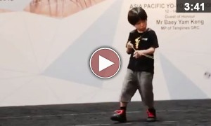Child Yo-Yo Prodigy Will Blow Your Mind With His Amazing skills