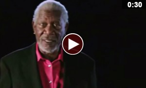 Morgan Freeman Talking On Helium Is Something You Don't Wanna Miss
