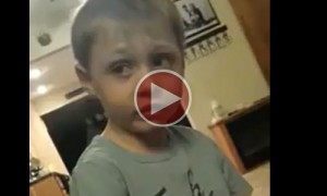 Kid Tries To Make The Toughest Decision Of His Life!