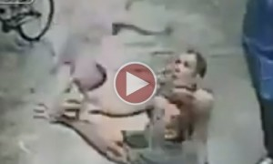 UNBELIEVABLE! Man Catches Baby Falling From A Second Storey Window!