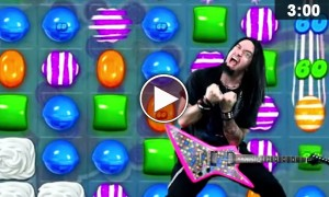 This Heavy Metal Song Perfectly Explains Our 'Candy Crush' Addiction