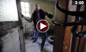 This Blood Curdling Video Captured In An Abandoned Children's Hospital Will Leave You Terrified