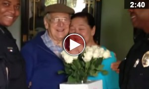This Man Got Some Flowers For His Wife On Mother's Day. But What He Overcame To Do That Is Unimaginable!