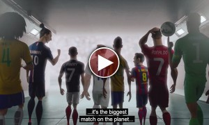 Another Epic FIFA Video From Nike. Football Superstars Try To Save The Soul Of The Beautiful Game!