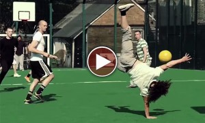 Unbelievably Hot!! This Video Just Made Me Fall In Love With Football Even More