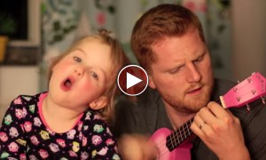 This Video Of Little Girl And Her Father Singing Is The Cutest Thing You Will See Today