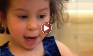 This 3 Year Old Kid Just Made The CUTEST Wedding Toast Ever