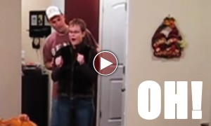 This Guy Surprised His Wife With This PRICELESS Gift! And It Is Just Incredible