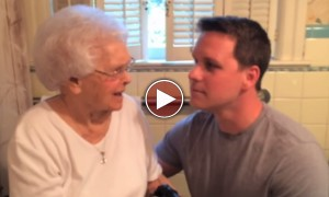This Grandson Gave The Most AMAZING Gift To His Grandma On Her 100 Birthday