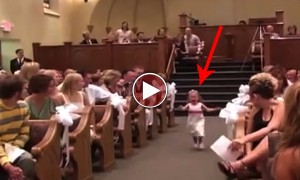 This Is The Cutest Disaster That Could Ever Happen At A Wedding!