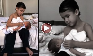 A Six Year Old Sings A Lullaby To His Little Brother That Is So Sweet It Made Me Cry