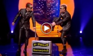 OMG!! These Two Guys Are Funniest Mime's I've Ever Seen!