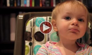 Cute Girl Breaks Daddy's Heart And Its Absolutely Adorable