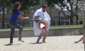 This Guy Undressed His Robe Before Innocent Kids And We Laughed!