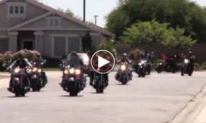 Would You Let Your Child Be Friends With 25 Bikers? We Definitely Will!
