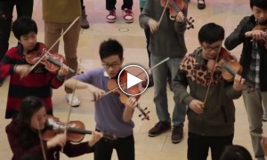 Watch This Amazing Flash Mob Performance By The Hong Kong Youth Orchestra