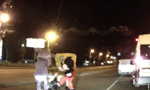 The Most Bizarre Road Rage Video You Will Ever See