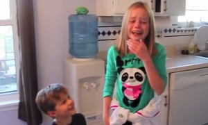 Their Parents Wanted To Give A Surprise To These Kids. What Could Be The Best Ever Gift Than This?