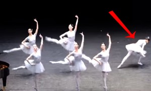 Everyone Laughed At This Ballerina And Thats What Makes This Ballet Performance Special