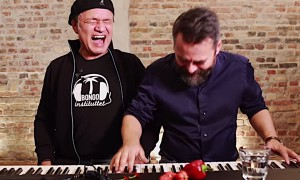 Two Guys Attempt To Sing After Eating The World's Hottest Chili Pepper