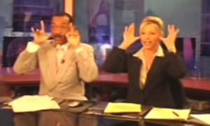 2 News Anchors Risked Losing Their Jobs And Did This During The Commercial Break